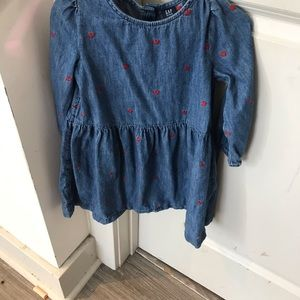 GAP girls Jean dress size 4